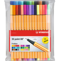 Multicolor STABILO Point 88 Fineliner Pens