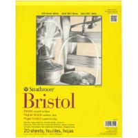 "Strathmore 300 Series Bristol 11""x14"" paper"